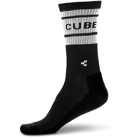Cube After Race Chaussettes hautes, black'n'white